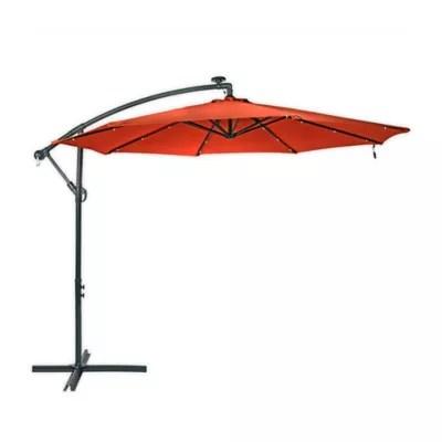 patio umbrella with lights bed bath