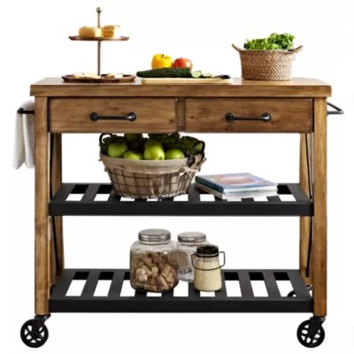 rolling kitchen carts organizer bed bath and beyond canada crosley roots rack industrial cart