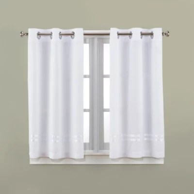 small bathroom window curtains bed