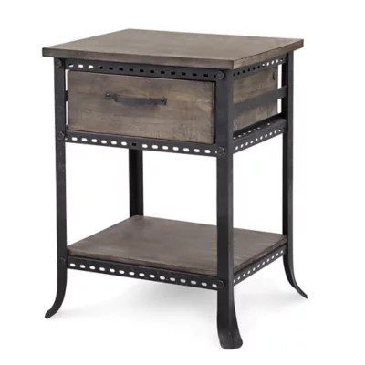 chair side tables canada wood office no wheels madison park cirque table in grey bed bath and beyond