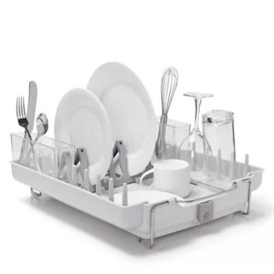 dish racks drainers bed bath beyond