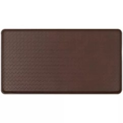 Padded Kitchen Mats Copper Aid Accent Rugs Comfort Floor Bed Bath Beyond Gelpro Classic Basketweave Mat