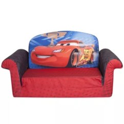Disney Cars Sofa Canada Chesterfield Manchester Uk Spin Master Marshmallow Pixar 2 Flip Open Bed