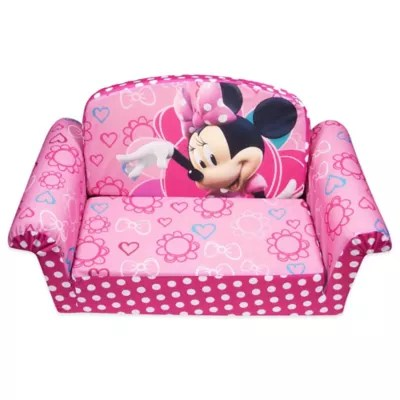 disney flip open sofa bed broyhill sectional spin master marshmallow minnie s bow tique
