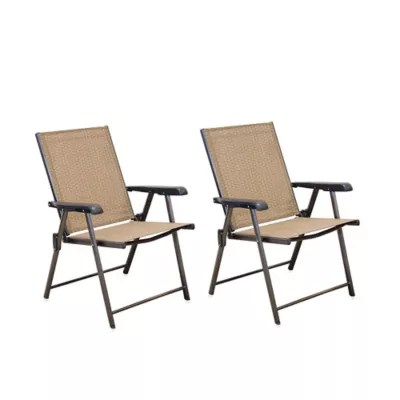 sling chairs for sale medicine ball chair reviews hawthorne folding set of 2 bed bath beyond