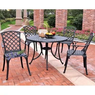 crosley sedona cast aluminum outdoor patio furniture collection