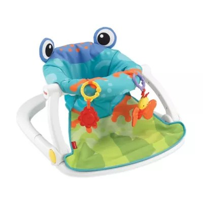 Fisher Price Froggy Sit Me Up Floor Seat Buybuy Baby