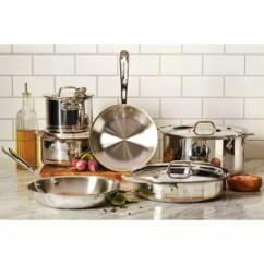 Kitchen Pot Sets Cabinets Online Wholesale Cookware Bed Bath And Beyond Canada All Clad Copper Core Collection