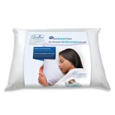 mediflow gel memory foam waterbase pillow