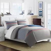 Nautica Dax Comforter Set in Grey | Bed Bath & Beyond