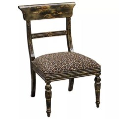 Leopard Print Accent Chair Spandex Covers Cheap Uttermost Tambra Bed Bath Beyond
