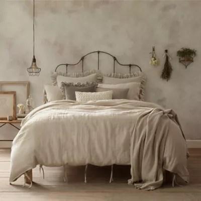 wamsutta vintage washed linen pillow sham