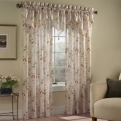 Curtains With Valance For Living Room Decor Ideas India Attached Bed Bath Beyond Chantelle Window Curtain Panel And