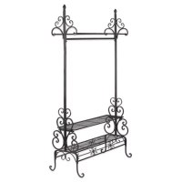 Decorative Metal Garment Floor Rack