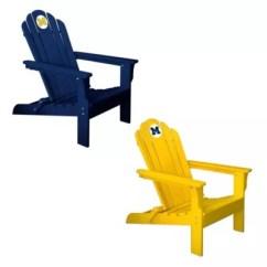 Michigan Adirondack Chair Chairs Cedar Wood University Of Bed Bath Beyond