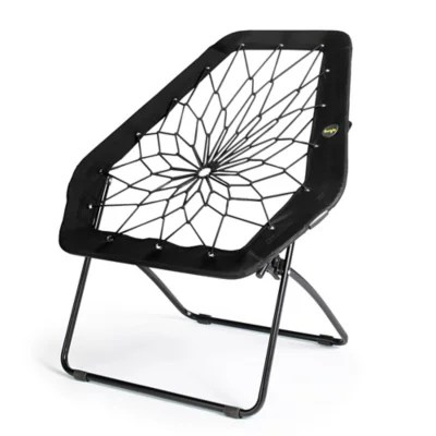 brookstone bungee chair accent chairs with arms clearance bunjo oversized hex in black bed bath beyond
