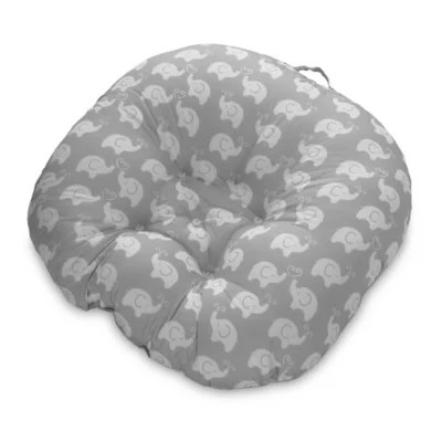 baby boppy chair recall movie theater chairs for sale newborn elephant lounger in grey bed bath beyond