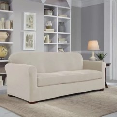 Sofa Chair Cover Desk Comfy Slipcovers Couch Covers Bed Bath Beyond Perfect Fit Easy 2 Piece Slipcover