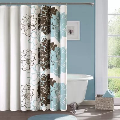 madison park lola cotton shower curtain bed bath beyond