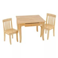Buy KidKraft Avalon Natural Table and Chairs Set from Bed ...
