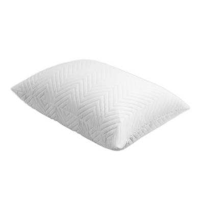 miracle bamboo deluxe shredded memory foam bed pillow