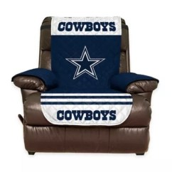 Dallas Cowboys Chair Cover Covers Nottingham Nfl Recliner Bed Bath Beyond