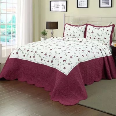 burgundy shams bed bath beyond
