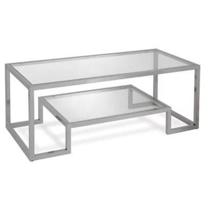 silver coffee table tray bed bath