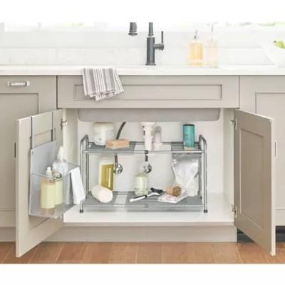 sink organizer bed bath beyond