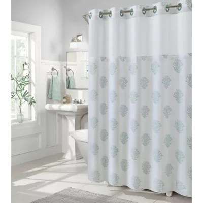 80 inch long shower curtain bed bath