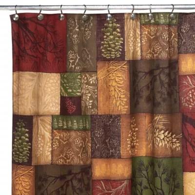 avanti adirondack pine shower curtain bed bath beyond