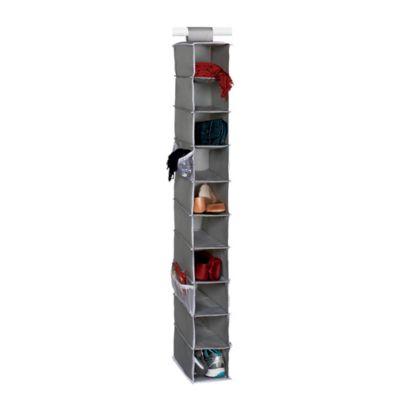 studio 3b 10 shelf hanging shoe organizer