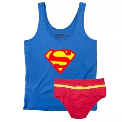 underoos dc comics supergirl
