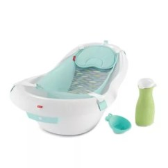 Baby Bath Chairs Chair Sash Accessories Infant Tubs Potty Seats Bed Beyond Fisher Price Soothing River Luxury Calming Vibrations Tub