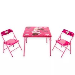 Minnie Table And Chairs Chair Cover Hire Uxbridge Mouse First Fashionista Activity Set Bed Bath