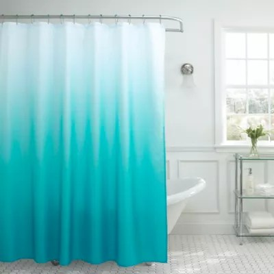 ombre weave 70 inch x 72 inch shower curtain bed bath beyond