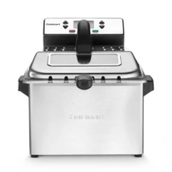Kitchen Fryer Cabinets San Diego Deep Fryers Electric Skillets Bed Bath Beyond In Silver