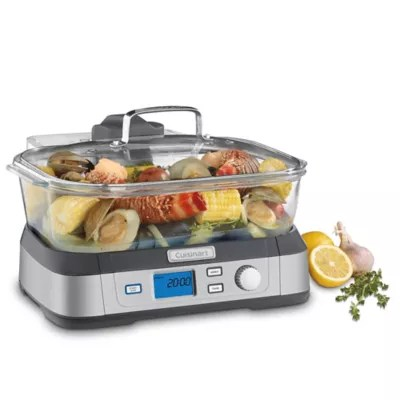 cookfresh digital glass steamer in