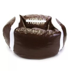 Football Bean Bag Chair Office Gas Cylinder Sports In Brown Bed Bath Beyond