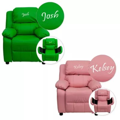 chair for baby pier one rattan cushions personalized kids furniture chairs buybuy flash recliner