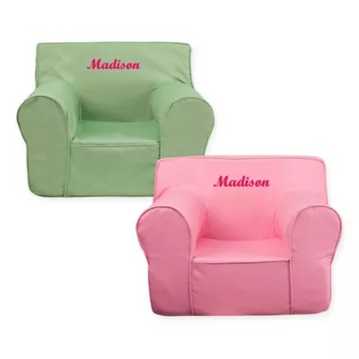 personalized kids chair cover wedding flash furniture bed bath beyond