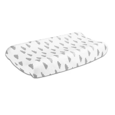 The Peanutshell™ Clouds Changing Pad Cover in Grey