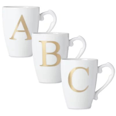 coffee mugs with initials