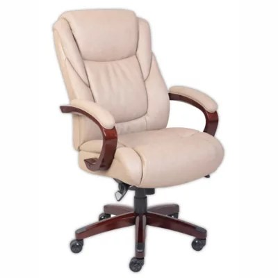 la z boy trafford big and tall executive office chair vino dining sets miramar comfortcore traditions in taupe