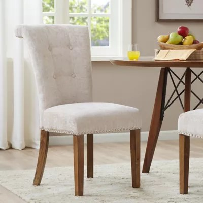 parsons chairs with skirt old dining room bed bath beyond madison park colfax set of 2