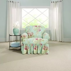 Chair Slipcover T Cushion Crazy Creek Chairs Sure Fit Ballad Bouquet By Waverly Bed Bath Beyond
