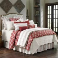 HiEnd Accents Bandera Comforter Set in Red | Bed Bath & Beyond