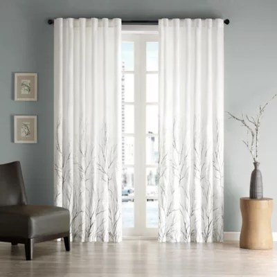 long living room curtains turning into dining window drapes bed bath and beyond canada madison park andora rod pocket back tab lined curtain panel valance
