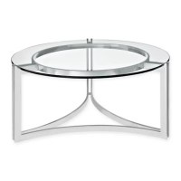 Buy Modway Signet Stainless Steel Coffee Table in Silver ...