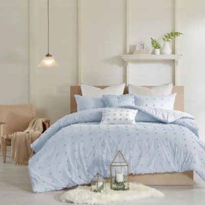 blue and white comforter set bed bath